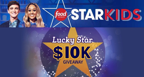 FoodNetwork.com Lucky Star $10K Giveaway