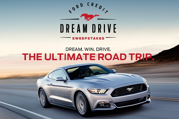 Ford Credit Dream Drive Sweepstakes