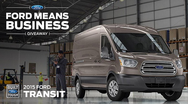 Ford Means Business Giveaway