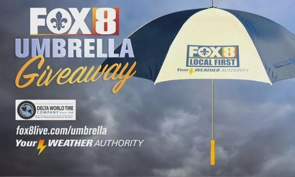 Fox8live.com Umbrella Giveaway
