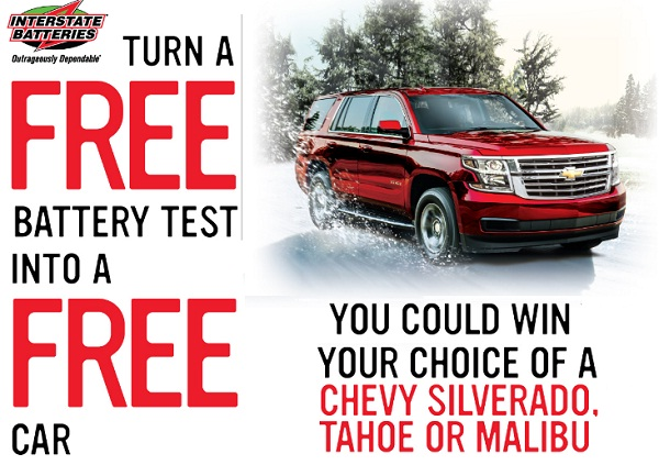 The Free Test, Free Car Sweepstakes: Win your choice of ...
