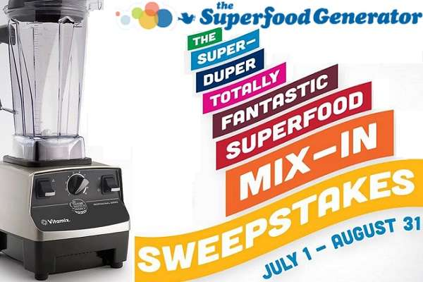 Friendshipdairies.com Super-Duper Totally Fantastic Superfood Mix-In Sweepstakes