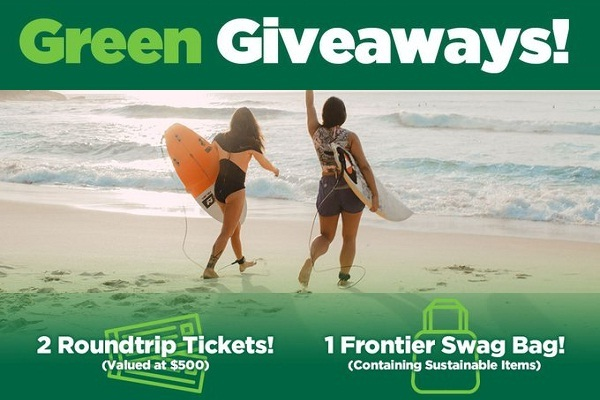 Frontier Airlines Ticket Giveaway