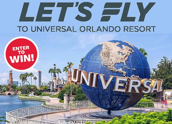 Universal Orlando Resort Sweepstakes 2020