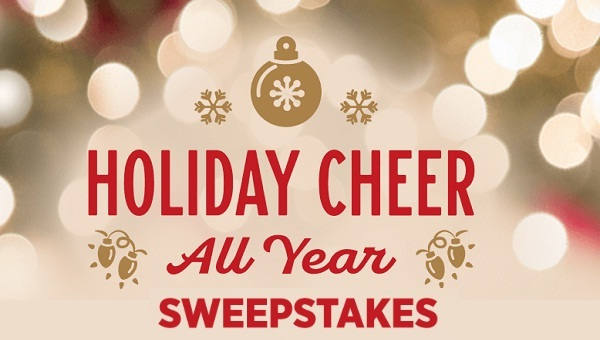 Hallmark Holiday Cheer All Year Sweepstakes 2018: Win Cash