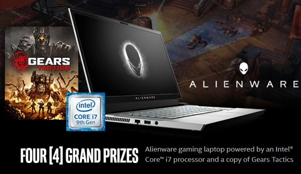Intel Gear Tactics Sweepstakes: Win A Gaming Laptop