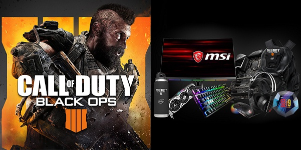 Intel.com Call of Duty: Black Ops 4 PC Builder Sweepstakes