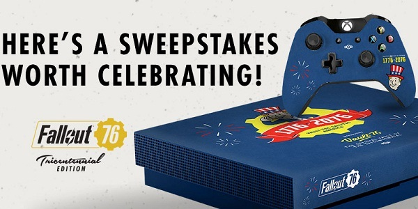GameStop.com Fallout 76 Tricentennial Sweepstakes