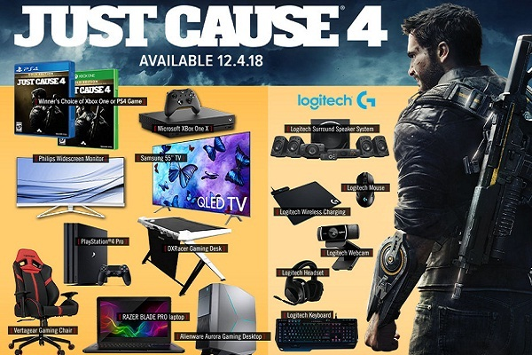 Gamestop.com PowerUp Rewards Just Cause 4 Sweepstakes