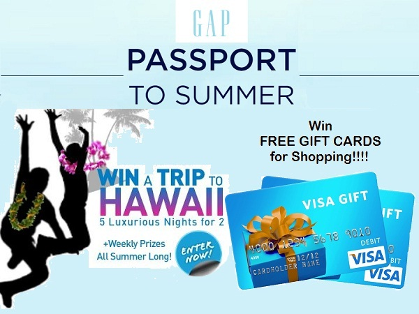 GAP Passport to Summer Sweepstakes