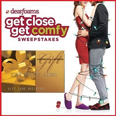 Get Close Get Comfy Sweepstakes on getclosegetcomfy.com