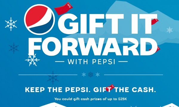 Gift with Pepsi Holiday Instant Win Game