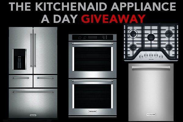 KitchenAid Appliance a Day Giveaway
