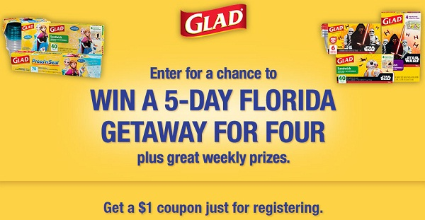 Glad Food Protection Sweepstakes