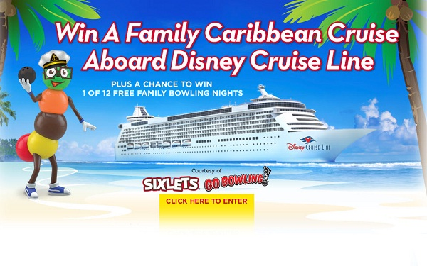 Sail with celebrity sweepstakes