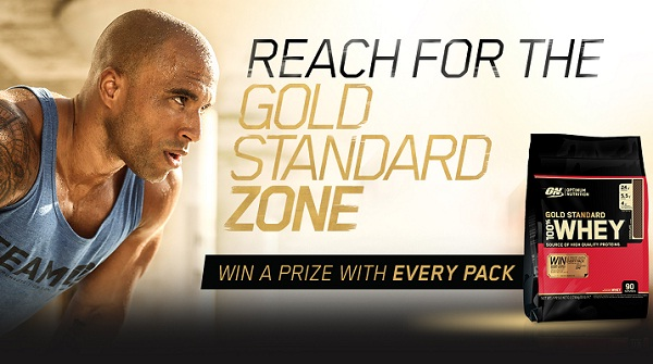 Gold Standard Zone Sweepstakes: Win Free Fitness trip!