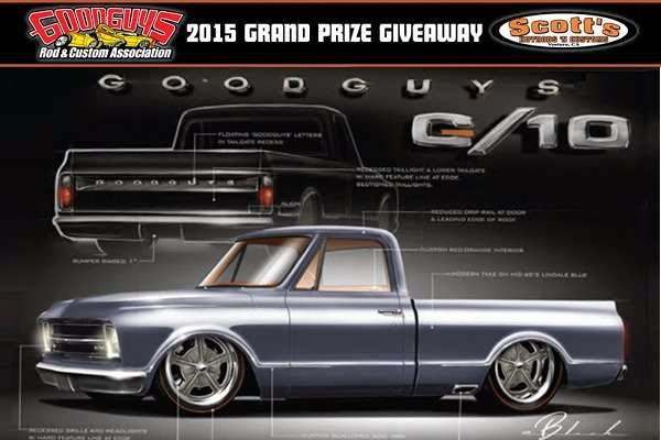 Goodguys G-10 Truck Giveaway