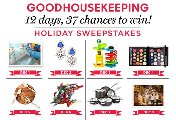 Goodhousekeeping.com 12 Days of Giveaways Sweepstakes