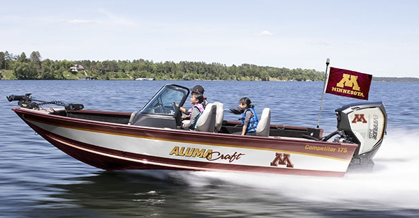 Alumacraft Boat - Great Gopher Boat Giveaway