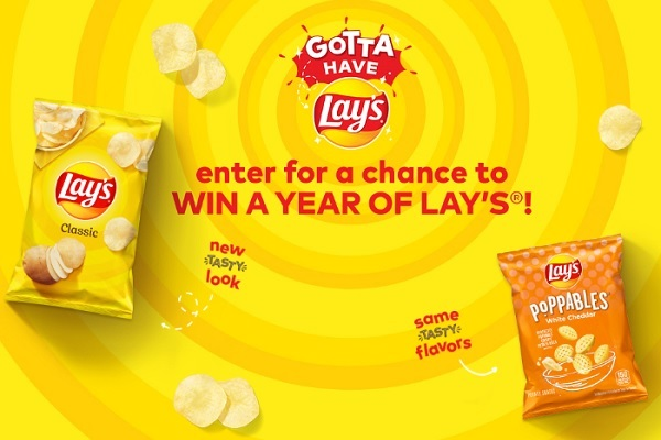 Gotta Have Lay's Sweepstakes 2020: Win Free Lay's for a Year!