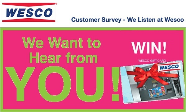 Go Wesco Listen Customer Feedback Survey