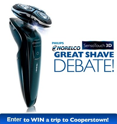 Take Part in Great Shave Debate Sweepstakes to win Exciting Trip