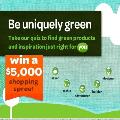 eBay Go Green Idea wins you $5000 Shopping Spree & more!