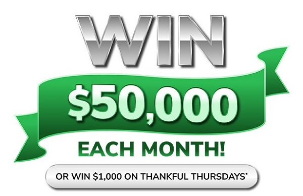 Green Dot Win $50K Giving Thanks Sweepstakes