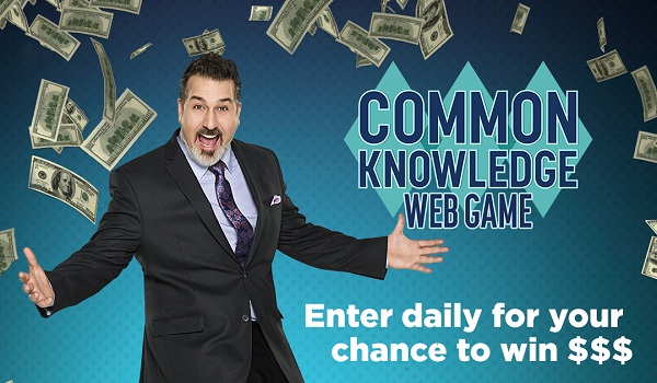 GSNTV.com Common Knowledge Weekly Sweepstakes