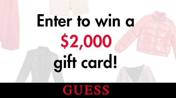 Guess Holiday Sweepstakes