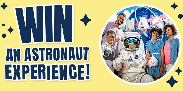 Guinness World Records Astronaut Experience Sweepstakes on GWRSpace.com