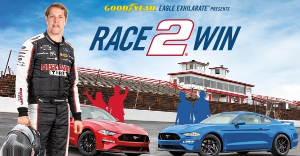 Goodyear Sweepstakes 2020 on Gyrace2win.com