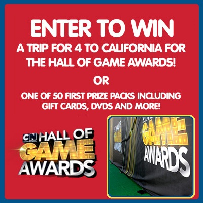 Kids Foot Locker Cartoon Network Hall of Game 2012 Sweepstakes