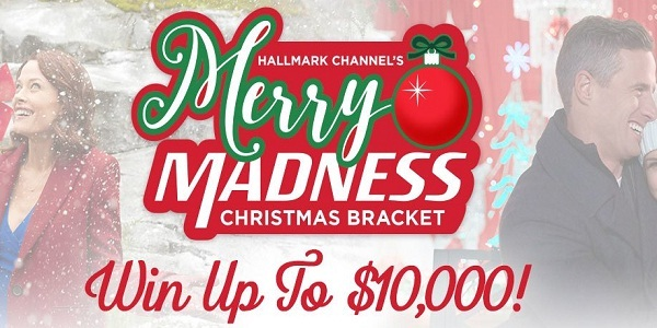 HallmarkChannel.com Merry Madness Christmas Bracket Sweepstakes