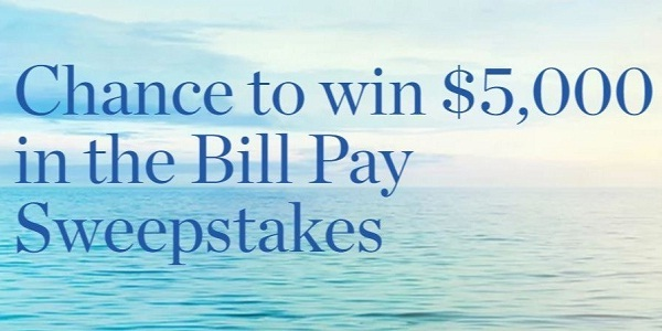 HancockWhitney.com Bill Pay Sweepstakes