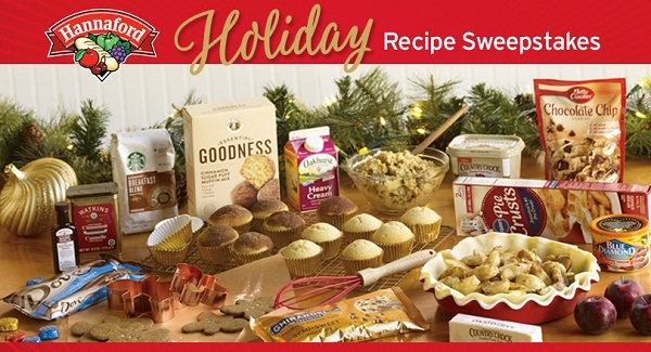 Hannaford Holiday Recipe Sweepstakes Sweepstakesbible