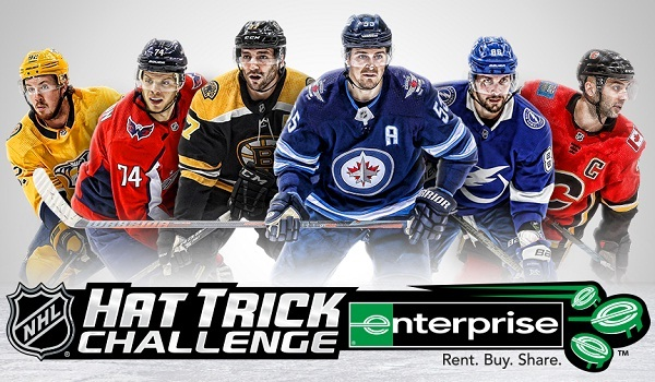 NHL Hat Trick Challenge: Win Cash Prizes, Tickets and more