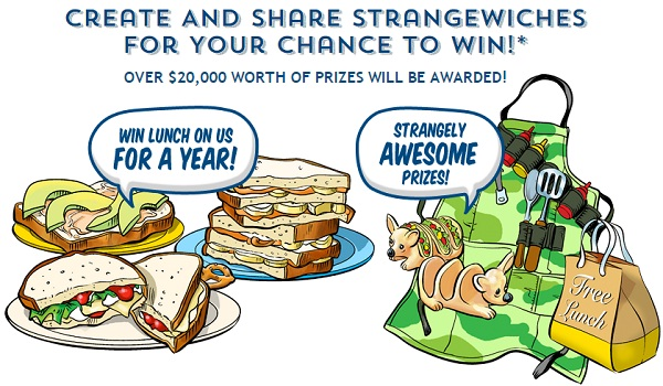 Hellman's #Strangewich Tailgate Sweepstakes