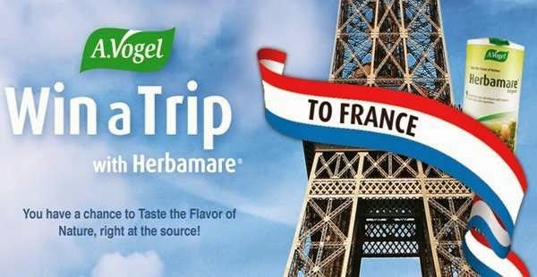 Win a France Trip on herbamaregiveaway.com