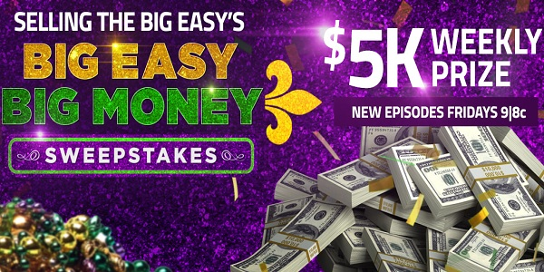 Hgtv.com Big Easy Big Money Sweepstakes