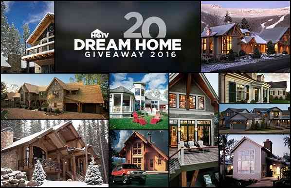 HGTV's 20 Days of 20 Dreams Sweepstakes