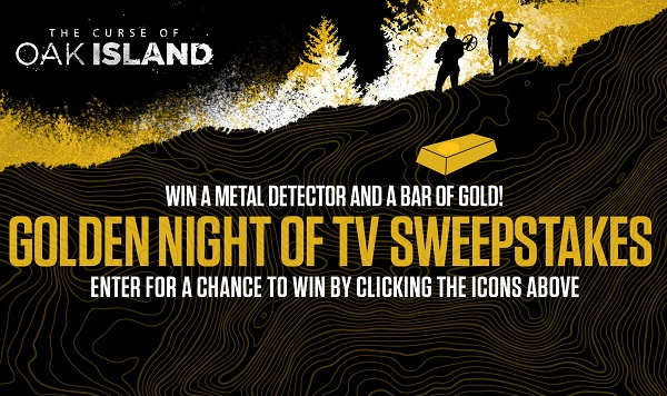 History com Golden Night of TV Sweepstakes | SweepstakesBible