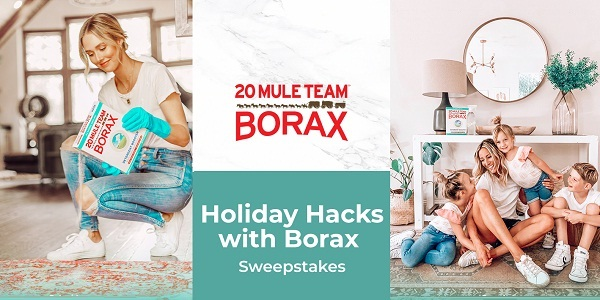 20 Mule Team Borax Holiday Sweepstakes