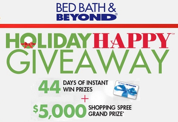 Bed Bath Beyond Holiday Sweepstakes