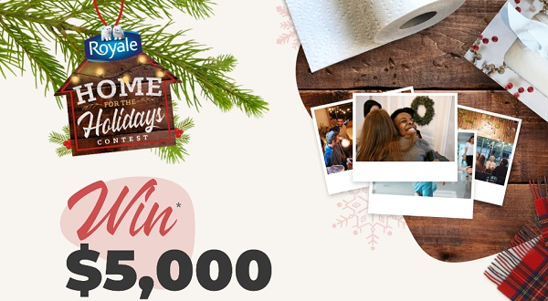 ROYALE Home for the Holidays Contest: Win Prepaid Gift Card