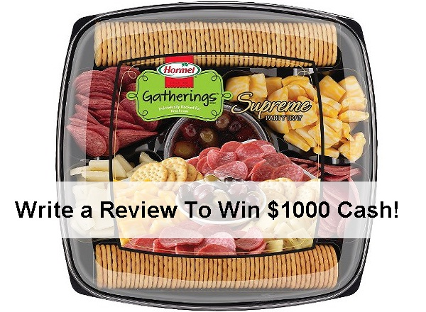 Hormel Gatherings Product Review Sweepstakes