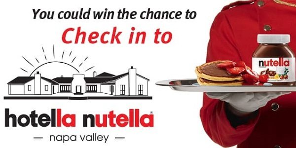 Hotella Nutella Contest: Win A Nutella Weekend Breakfast Experience