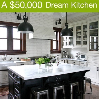 Houzz & Lowes: $50,000 Dream Kitchen Sweepstakes