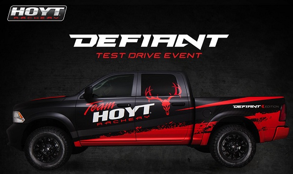 Win A Truck In The Hoyt I Am Defiant Test Drive Sweepstakes