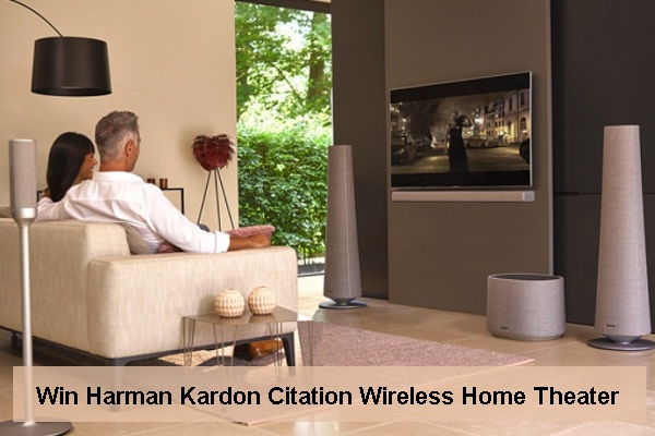 Harman Kardon Home Theater System Sweepstakes